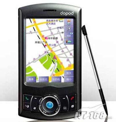内置GPS模块多普达智能霸主P800上市