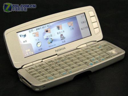 外形奇特诺基亚全键盘商务9300逼近三千