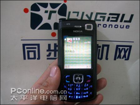 智能音乐诺基亚N70全黑版配1G卡售价2680(2)