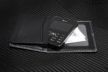 科技时代_还是宽屏的好 LG超薄直板手机KG99上市