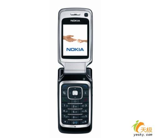 艳丽色彩诺基亚翻盖3G新机6290曝光