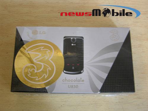 全面升级LG推出3G巧克力手机U830