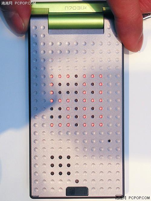 也算是全球最薄NEC最新手机挑战纪录