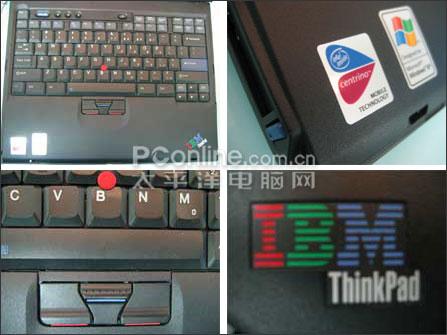 IBM小黑困兽斗!无线奔腾512M本8999