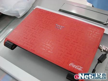 可口可乐限量版联想天逸F20本本今到货
