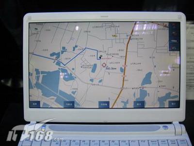 首款GPS定位海尔W06笔记本抢滩郑州