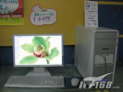 [郑州]真超值奔四3.4+19宽屏仅售4498