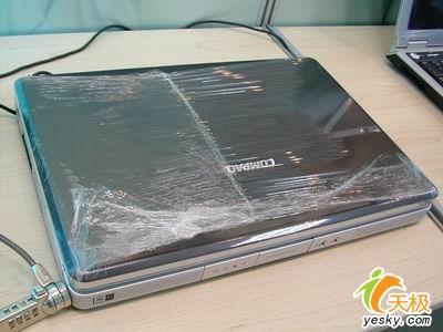 送打印机惠普D刻1.8G镜面本本5999元