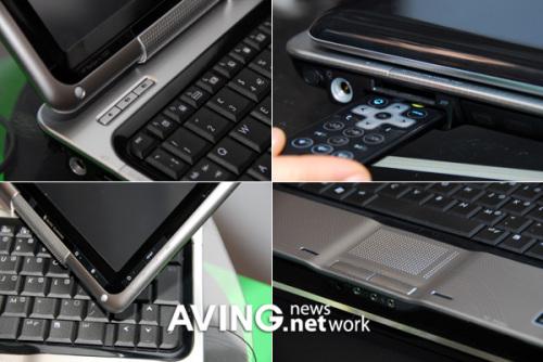 首款Vista平板NB惠普tx1000实物欣赏