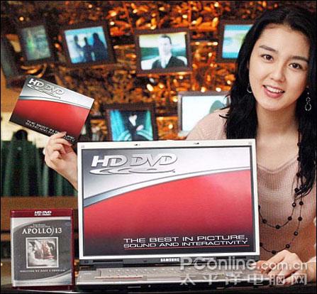 支持HD-DVD读写,三星M55新品发布