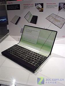 未来派风格富士通精美概念笔记本登场