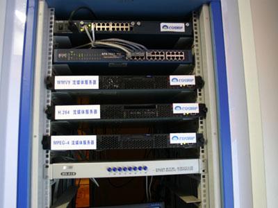 科技时代_同洲电子展示IPTV流媒体服务器(图)