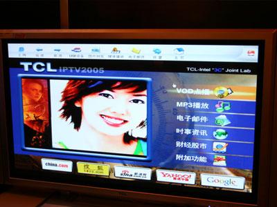 科技时代_TCL展示数字电视(图)