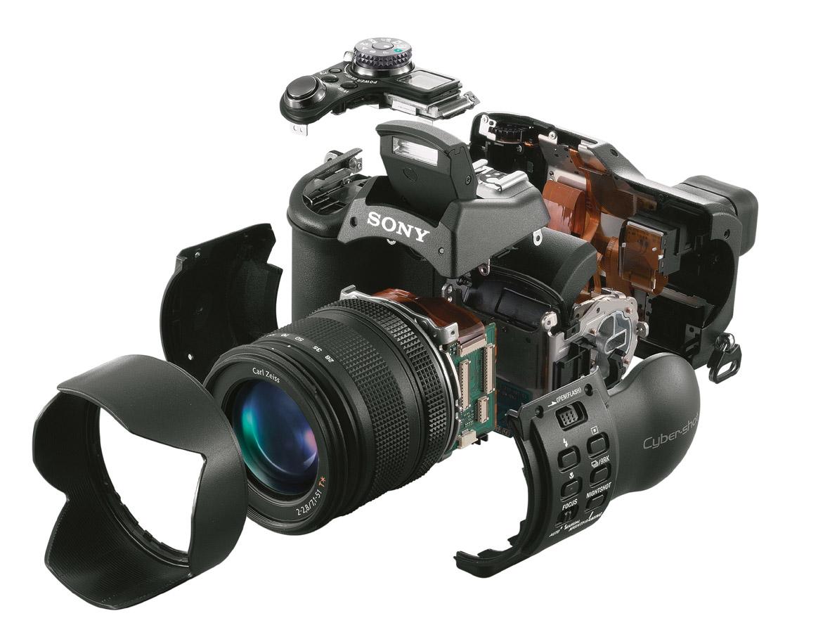 索尼800万像素f828数码相机独家权威评测(2)