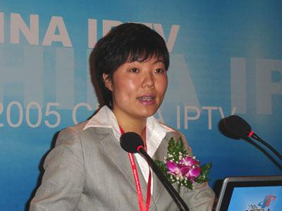 科技时代_上海贝尔阿尔卡特副总裁汪莹发言