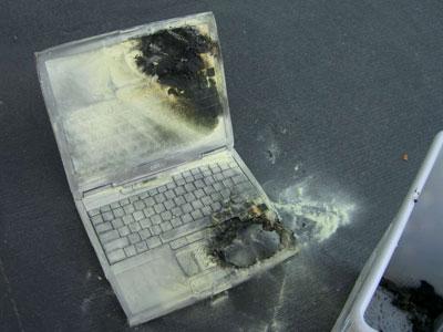 惊动消防队Dell笔记本再次上演自燃惊魂
