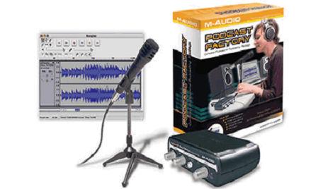 科技时代_M-Audio在中国推播客工厂制作套装