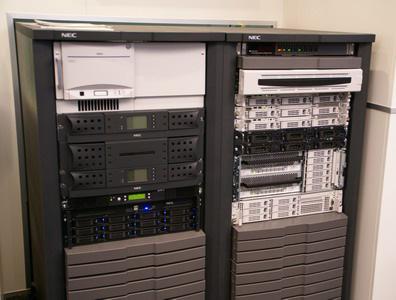 科技时代_CeBIT2007图文:NEC存储