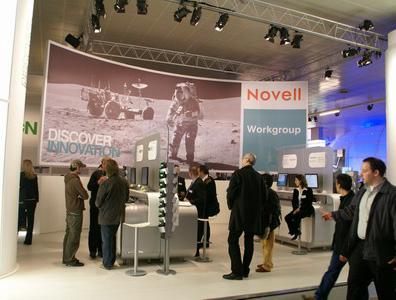 科技时代_CeBIT2007图文:Novell展台