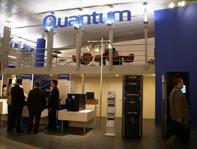 科技时代_CeBIT2007图文:Quantum展台