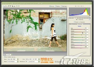 PS CS3揭秘 Camera Raw 4.0霸气初现