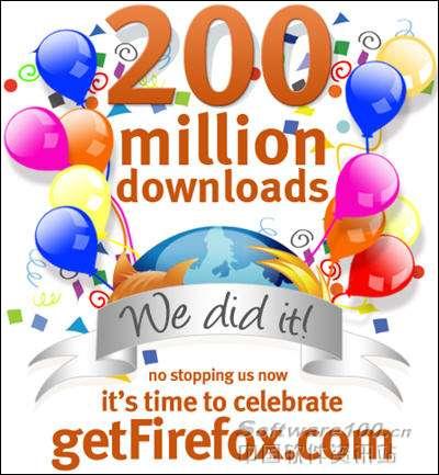 关注:FireFox下载量已突破两亿