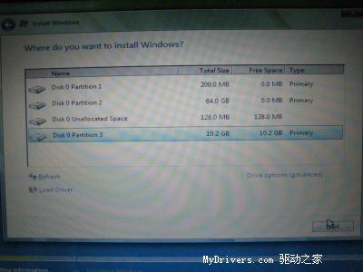 国外网友用MacBookPro安装VistaRC1(多图)