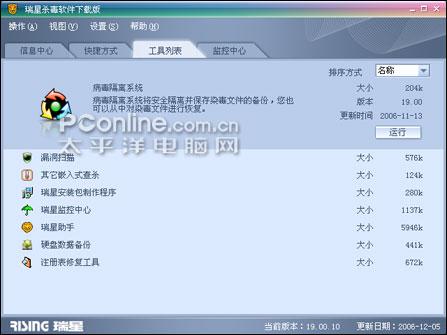 瑞星杀毒软件2007已拥有世界级核心技术
