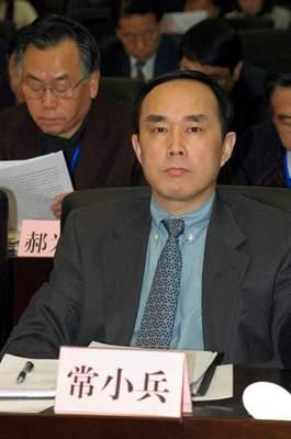图文 中国联通董事长常小兵在工作会议现场