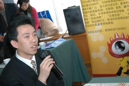 科技时代_图文:王煜全批评中国的运营商没有研发