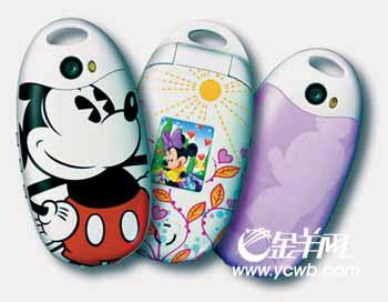 科技时代_迪士尼国内首款珍藏版手机亮相上海(图)