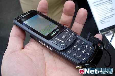 科技时代_极品滑盖手机 三星铂锐系列SGH-D908