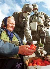 切尔诺贝利核泄漏19年祭:核辐射阴霾未散
