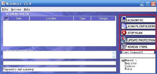 间谍软件克星:NoAdware