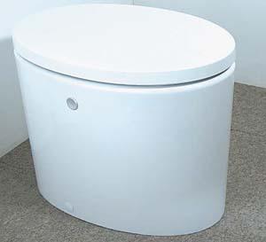 科技新产品比创意水箱藏在马桶底部(组图)