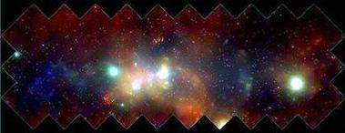 银河系中心现大质量恒星黑洞成恒星育儿所