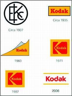 柯达全球换标:将弃用传统黄盒子和K字标