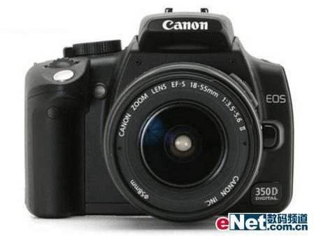 单反入门旗舰佳能350D数码相机降300元