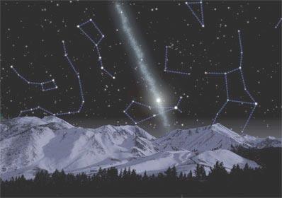 天文学家发现距地球76000光年的恒星河(图)
