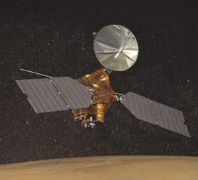 美新型探测器开始变轨欲进火星极地轨道(图)