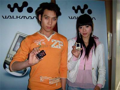 索尼推出全新WalkmanP系列闪存播放器