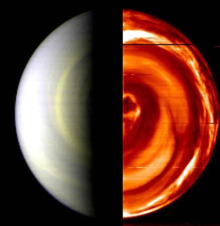 欧洲金星快车探测器发回首批金星照片(图)