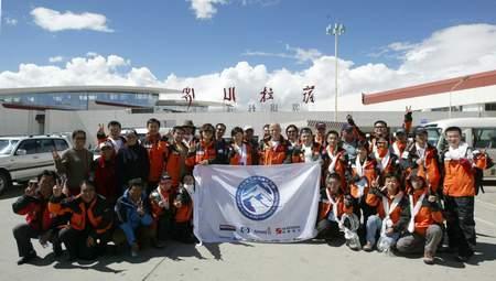 组图:2006地球第三极珠峰大行动队伍抵达拉萨