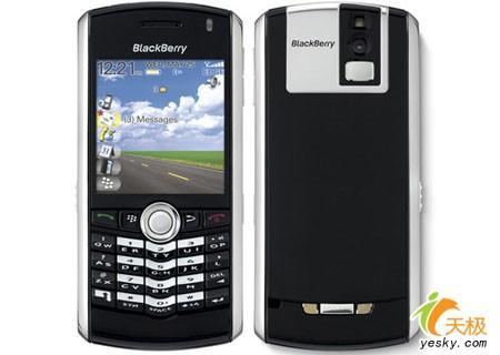 百万像素可扩展Blackberry全键盘8100亮相