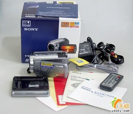 容量增大索尼硬盘式摄录机SR60E试用报告(5)