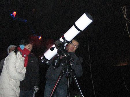 北京5所高校天文协会观测双子座流星雨记实