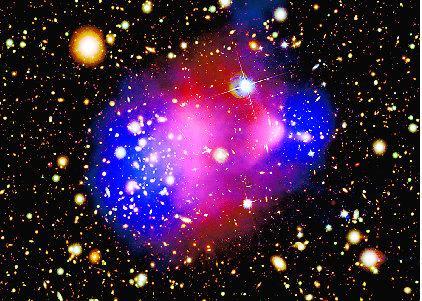 算出暗物质大小及温度发现暗物质存在证据
