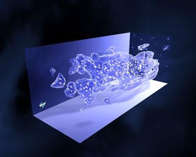 科学家首次绘出宇宙暗物质三维数字地图(图)