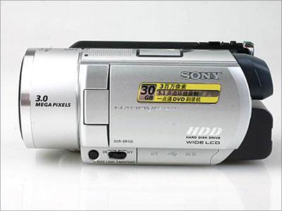 第一视频:索尼硬盘式摄像机SR100E