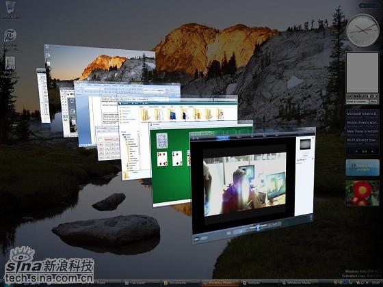 WindowsVista图赏:全新超酷视觉体验
